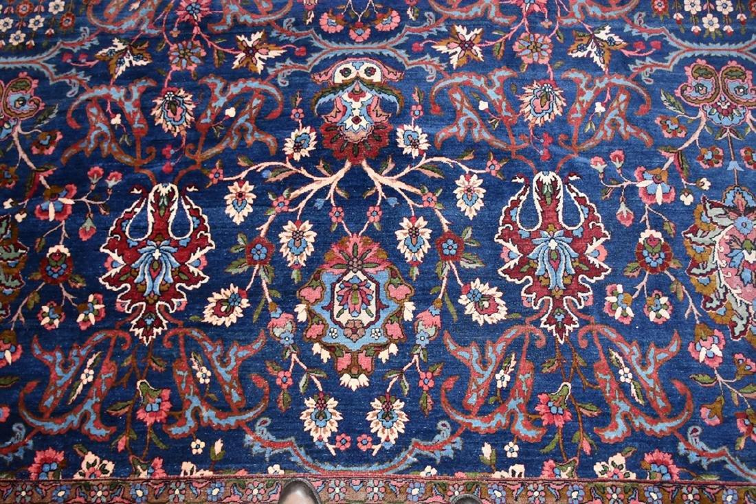 AN ANTIQUE PERSIAN BAKHTIARI CARPET, - 4