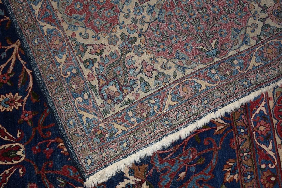 AN ANTIQUE PERSIAN BAKHTIARI CARPET, - 7