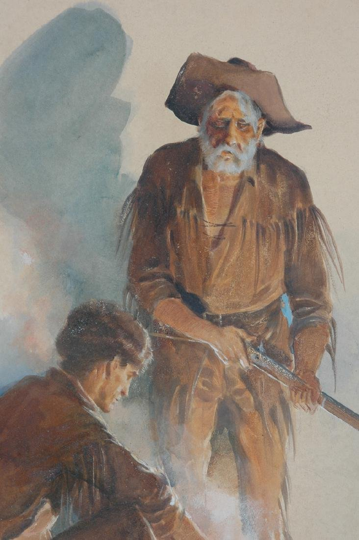 GERALD McCANN (American 1916-1995) A PAINTING, - 3