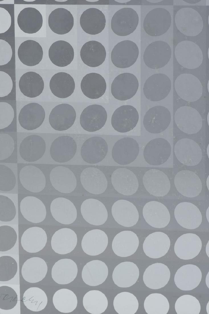 "VICTOR VASARELY (Hungarian 1906-1997) A PRINT, ""Dots"" - 5"