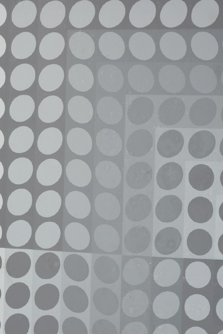 "VICTOR VASARELY (Hungarian 1906-1997) A PRINT, ""Dots"" - 6"