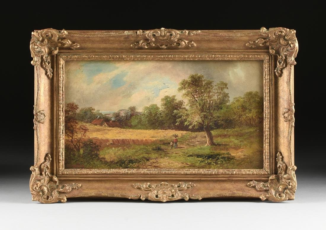 W. MATES (French School 19th Century) A PAINTING, - 2