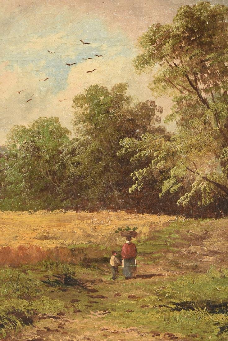 W. MATES (French School 19th Century) A PAINTING, - 5