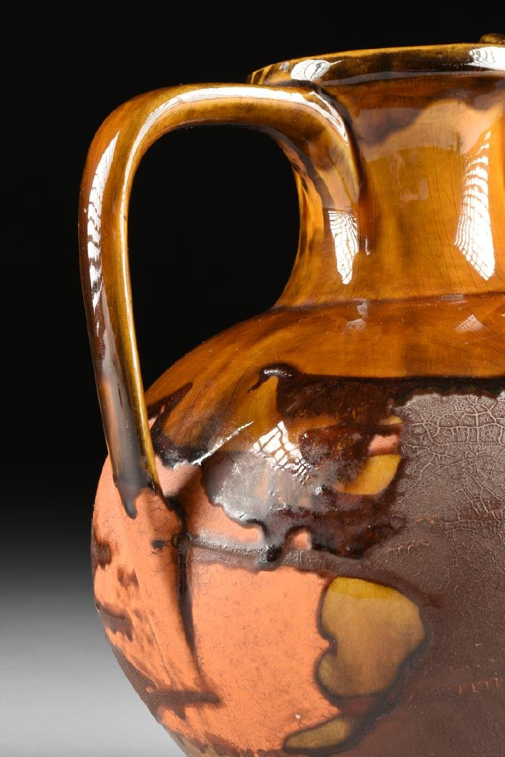 A ROYAL HAEGER LAVA GLAZE CERAMIC PITCHER FROM THE - 7