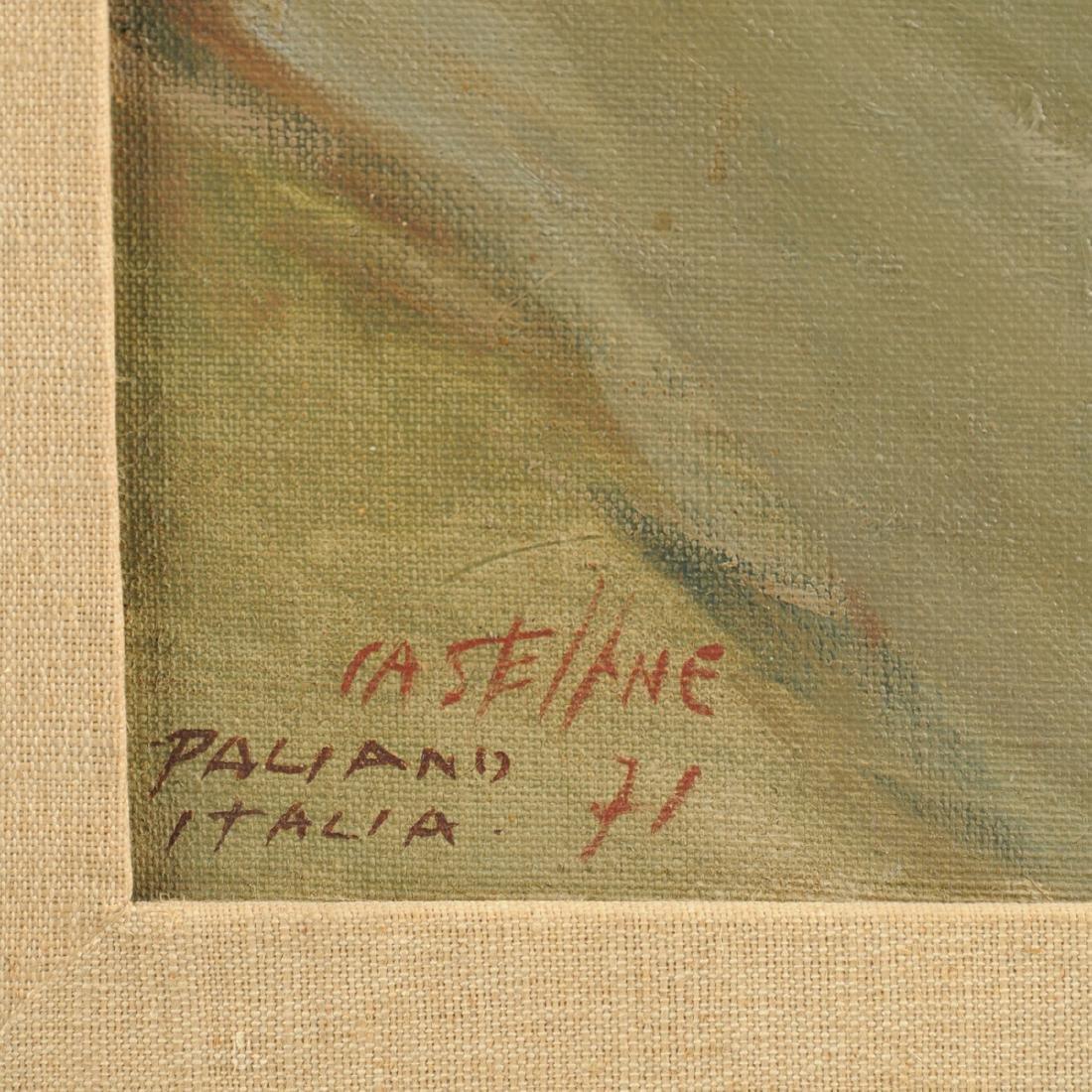 "ITALIAN SCHOOL (20th Century) A PAINTING, ""Paliano - 4"