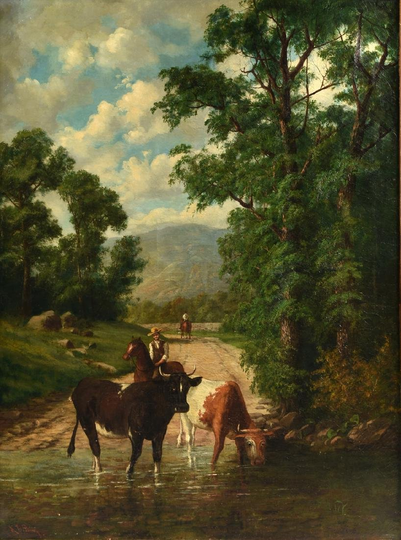 A. EMIL PRINZ (American/New York 19th Century) A