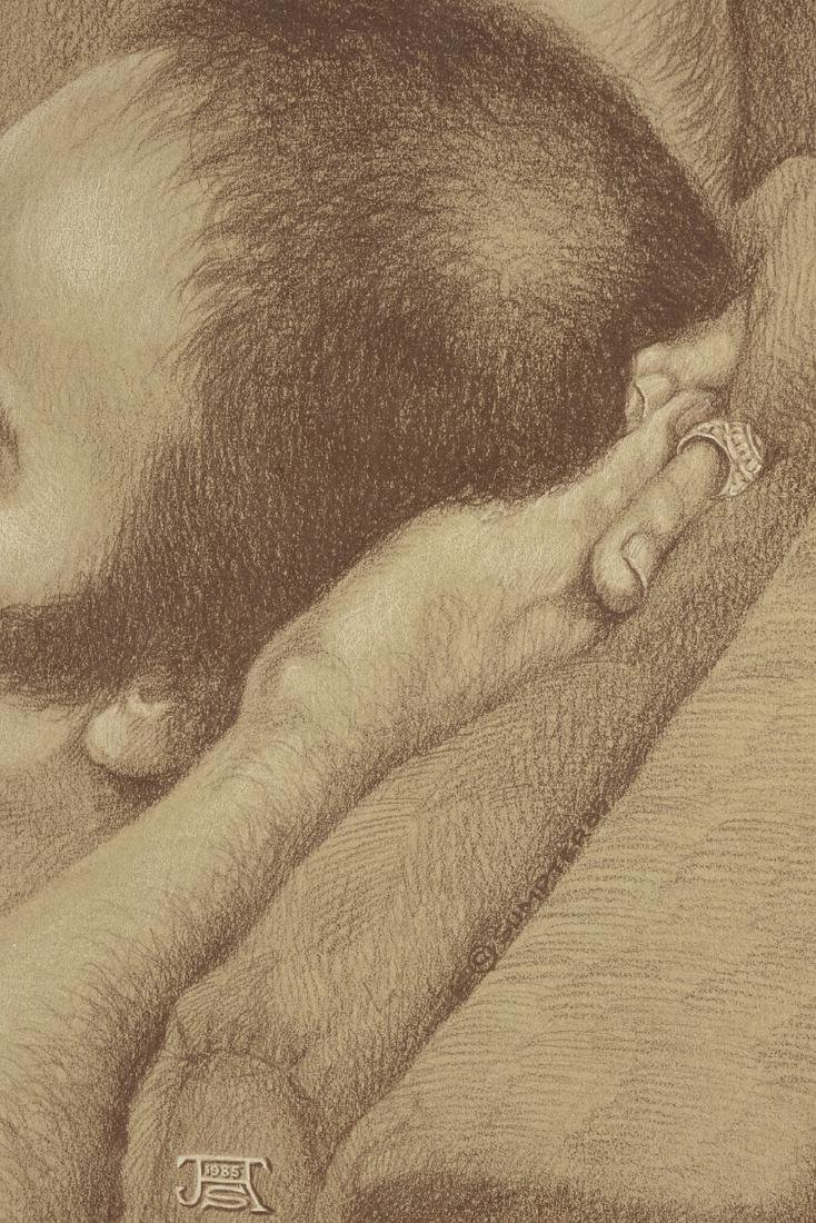 JESSE SUMPTER (American/Texas 1929-2013) A DRAWING, - 4