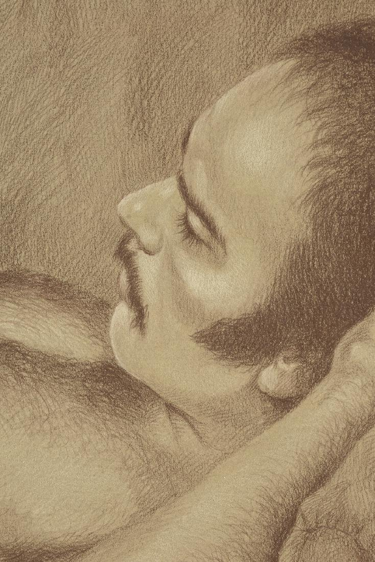 JESSE SUMPTER (American/Texas 1929-2013) A DRAWING, - 5