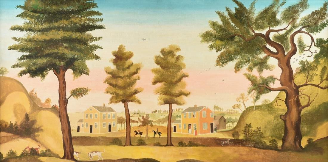 WILLIAM SKILLING (California 1862-1964) after WINTHROP