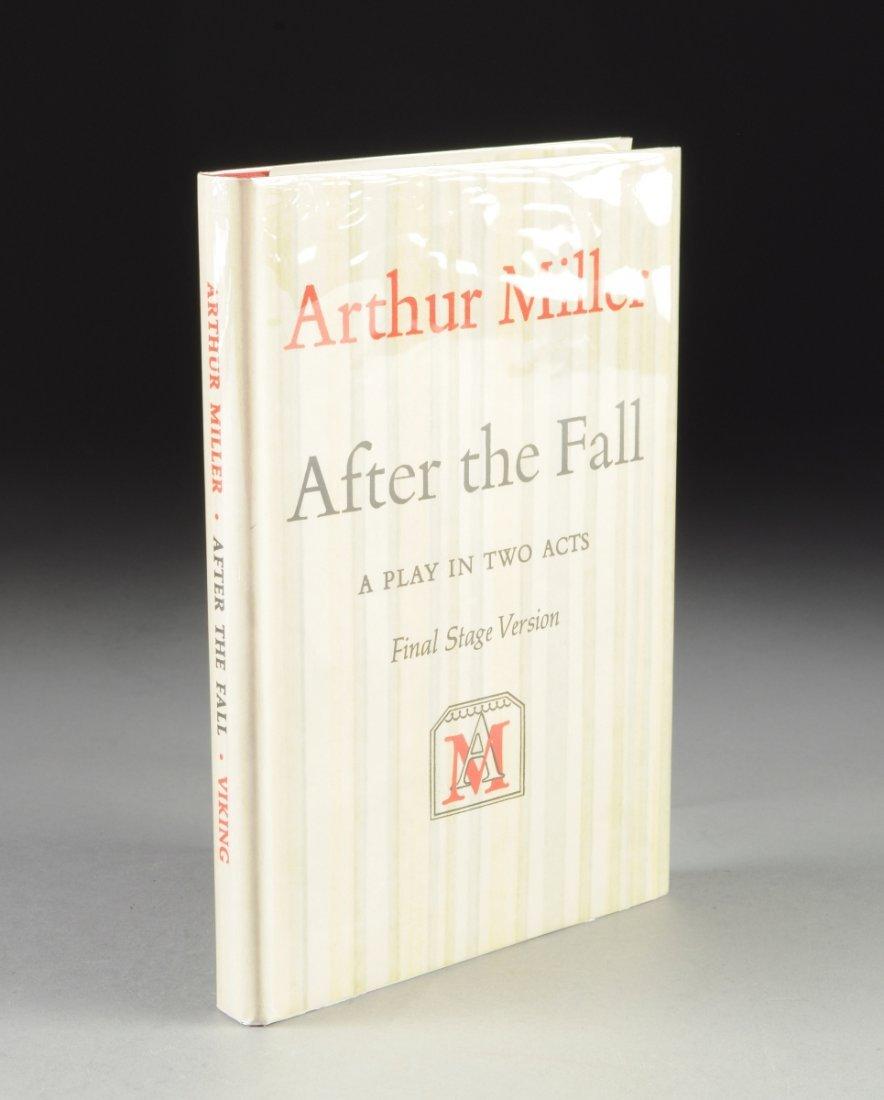 """ARTHUR MILLER (1915-2005) A BOOK, """"After the Fall,"""""""