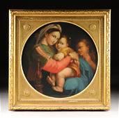 after RAPHAEL SANZIO (Italian 1483-1520) A PAINTING,