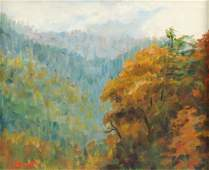 LEONIDE MARTINON CAPOCELLI (American 1895-1992) A
