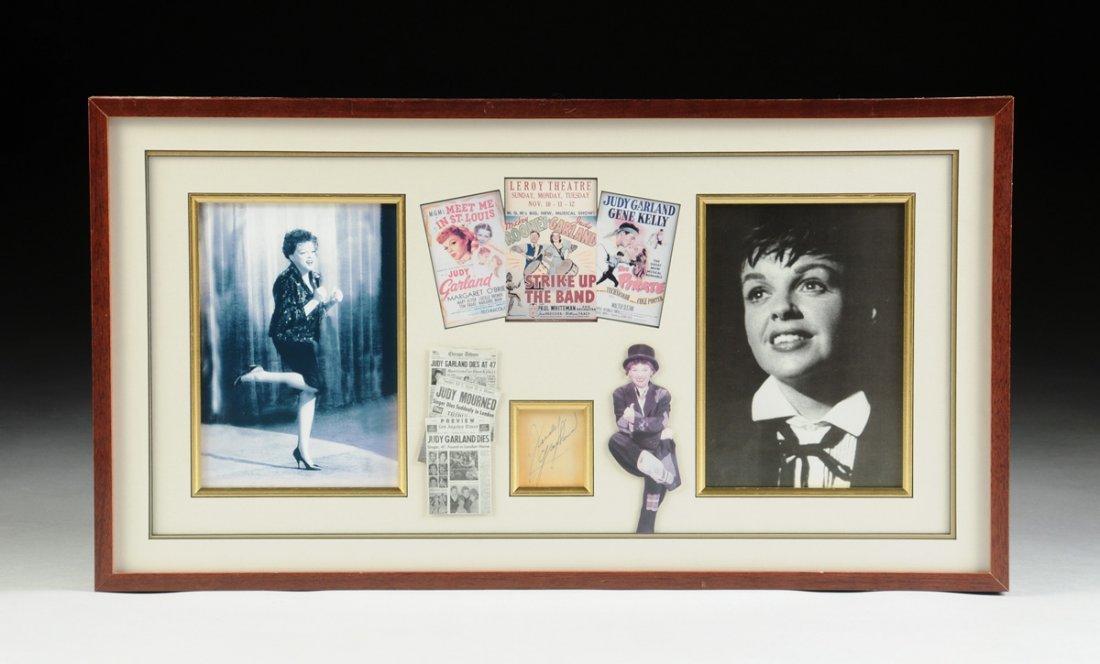 JUDY GARLAND (BORN FRANCES ETHEL GUMM 1922-1969)