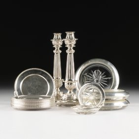An Assembled Group Of Nineteen Various Sterling And