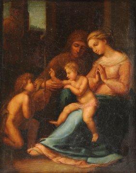 A Copy After Raphael Sanzio (italian 1483-1520), A