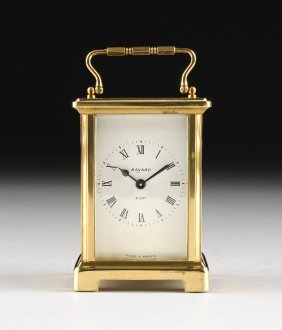 A French Polished Brass Carriage Clock, By Bayard, 8