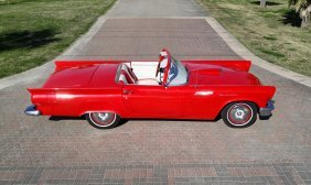 A 1957 Ford Thunderbird Replica,