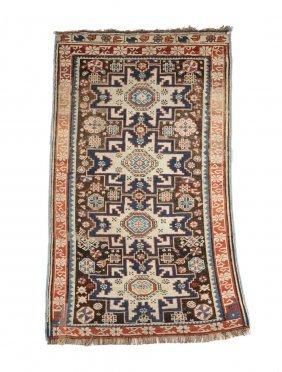 An Antique Caucasian Prayer Rug,