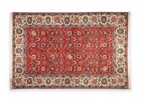 A Persian Wool Tabriz Carpet, Modern,