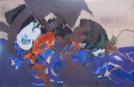 Syd Solomon painting