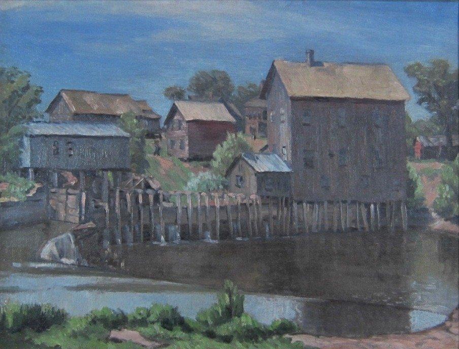 Arnold Ness Klagstad - WPA Oil Painting