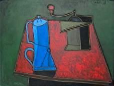 Javier Vilato 1948 Modernist Oil Painting