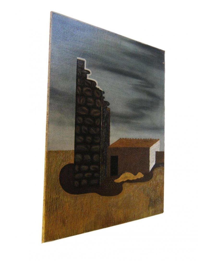 Hilaire Hiler Exhibited Surrealist Oil Painting 1931 - 2
