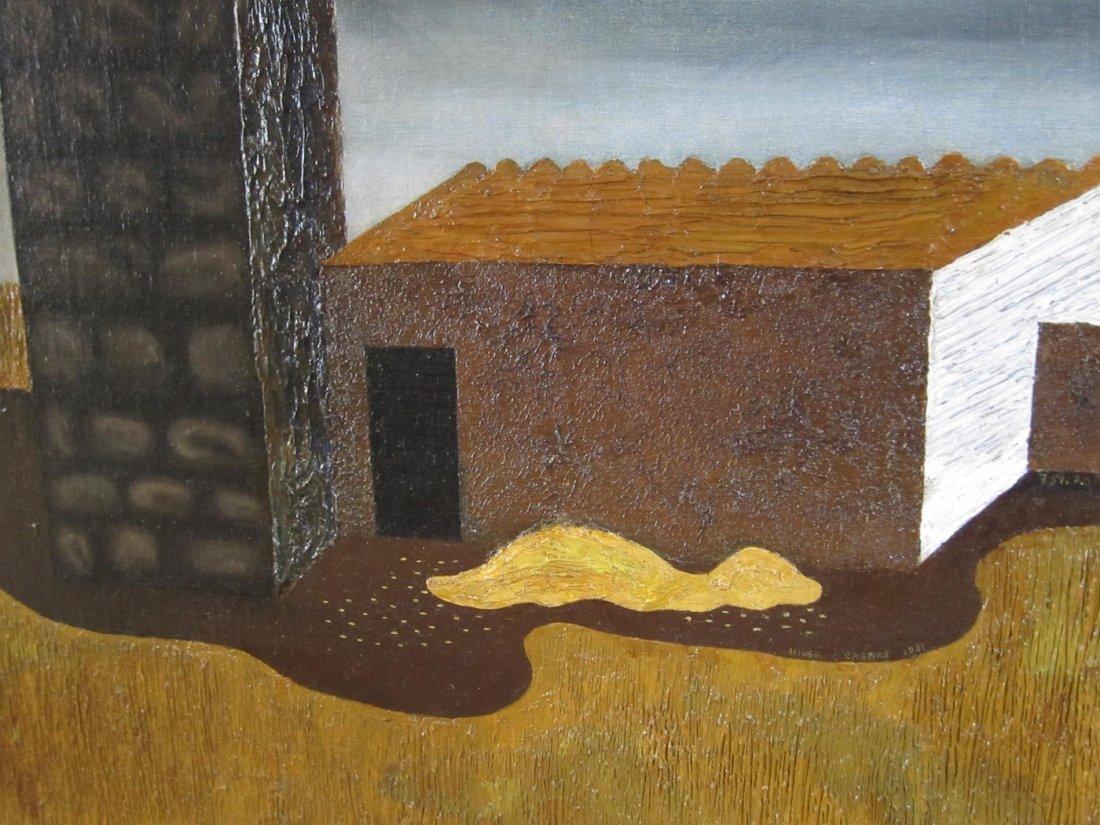Hilaire Hiler Exhibited Surrealist Oil Painting 1931 - 3