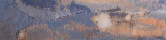 Randall Morgan Abstract Oil Painting