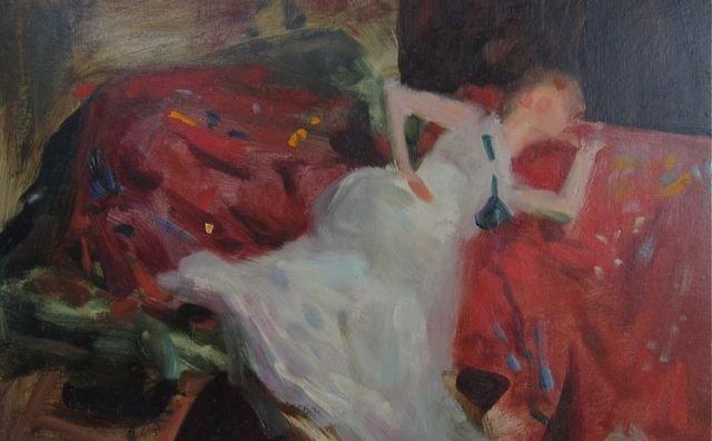Emil Fuchs, (New York/Austria), Woman in repose