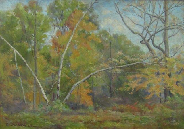 Willie Wimwam, (unknown artist), Forest scene
