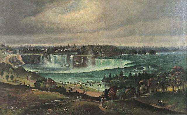 T.M. Lawson, museum deaccession, 19th c. Niagara Falls