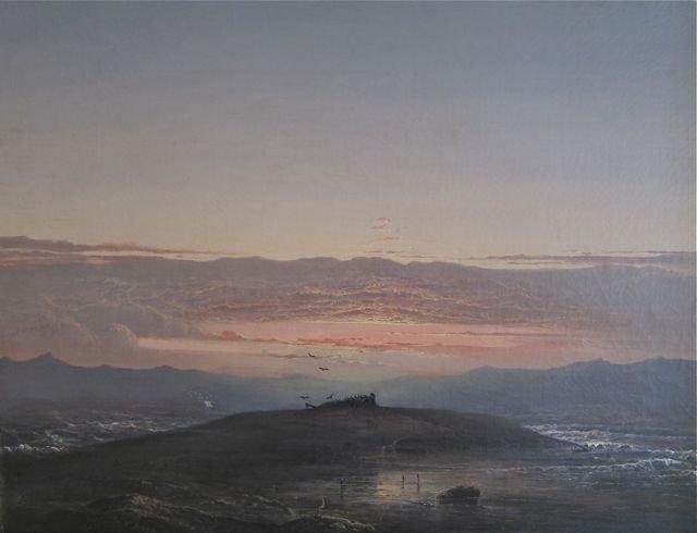 Norton Bush,  San Francisco Bay at Sunset, 1860