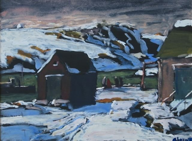 Andrew Winter, (Mass., 1892-1958), Monhegan