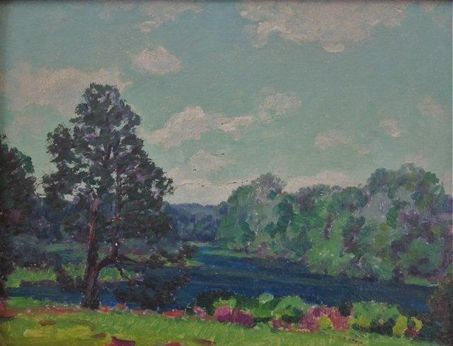 Lawrence Mazzanovich, (American, 1872-1959), Lake
