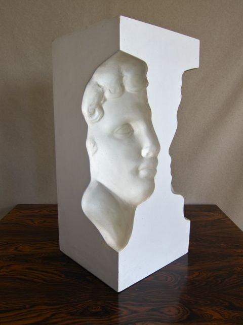 Roy Adzak, British pop artist, sculpture