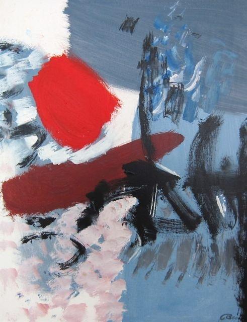 Cameron Booth, Minnesota, 'Red Spot', 1960