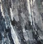 John Franklin Koenig, early work on canvas, 1958