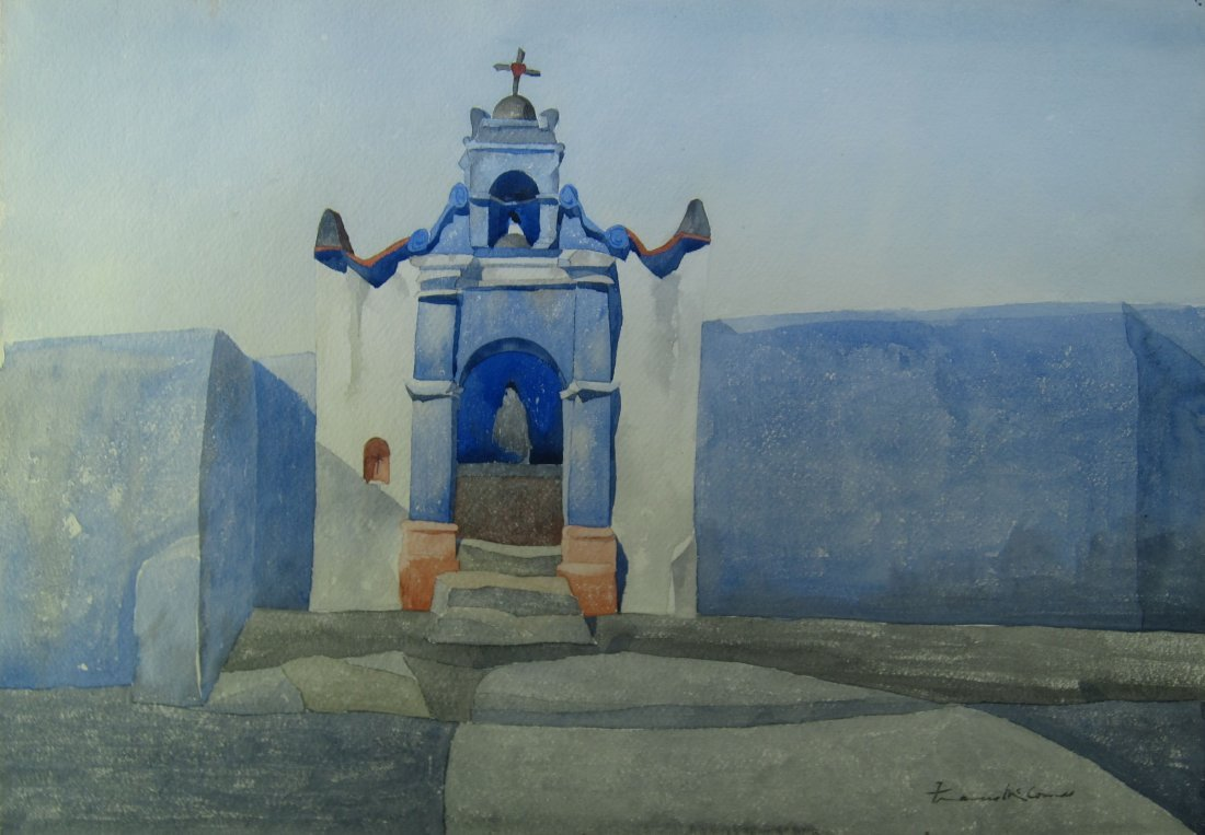Francis John McComas, 'Church in Mexico'