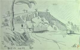 Oscar Bluemner, Modernist Drawing