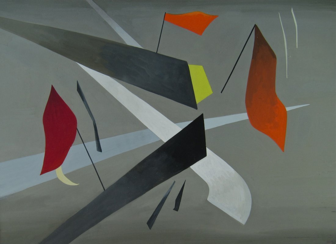 Madge Knight, Modernist Abstract, 1940s