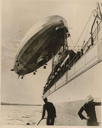 Collection of Photographs focusing on USN Airships: