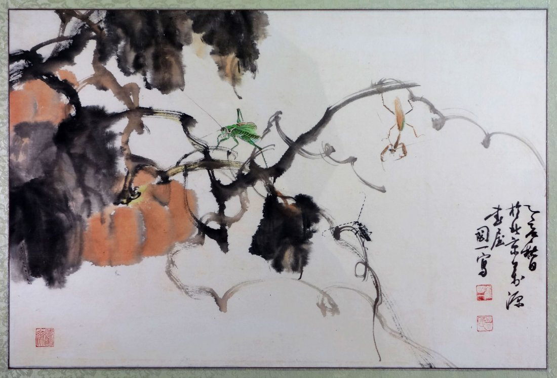 CHINESE PAINTING BY CUI GUOYI