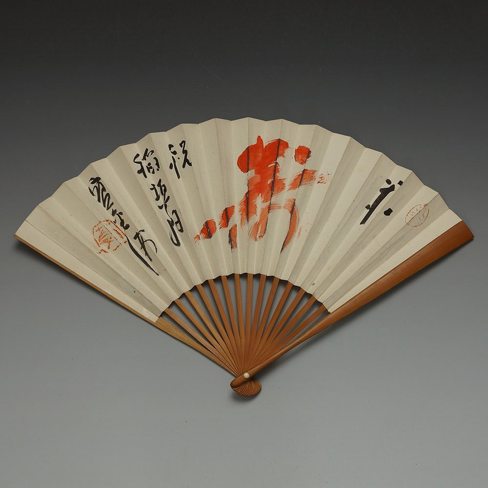 JAPANSESE HAND PAINTED FAN