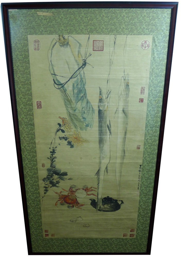 VINTAGE CHINESE PAINTING BY ZHOU ZHIMIAN