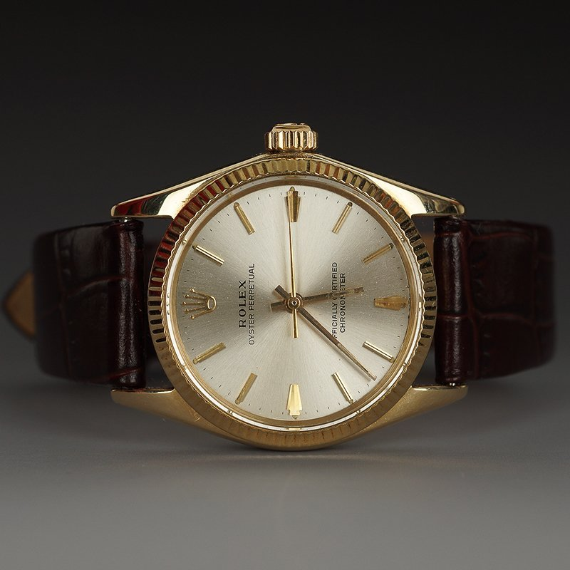 ROLEX 14K YELLOW GOLD SELF-WINDING WRISTWATCH
