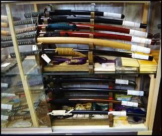 28  Authentic Japanese SAMURAI SWORDS