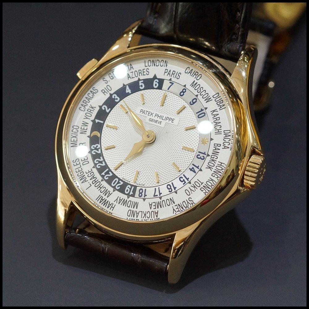 Patek Philippe World Time 5110 18K Rose Gold Mens Watch