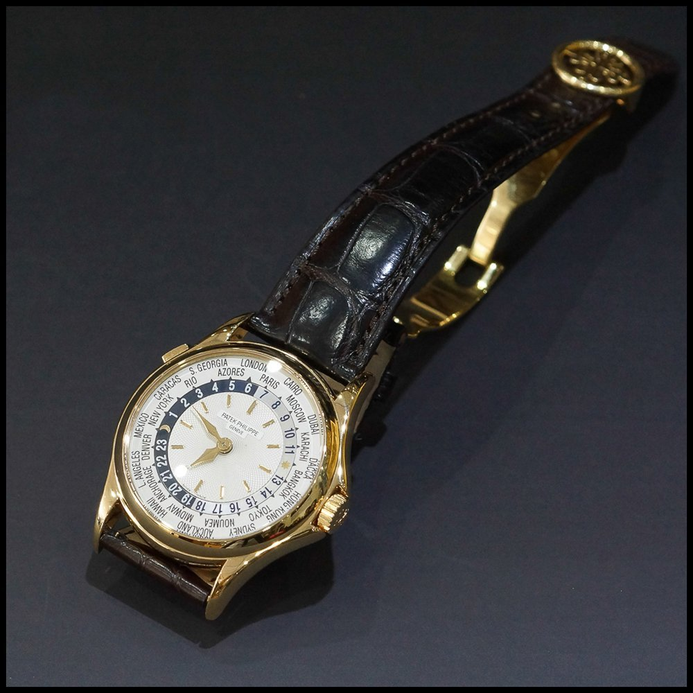 Patek Philippe World Time 5110 18K Rose Gold Mens Watch - 2