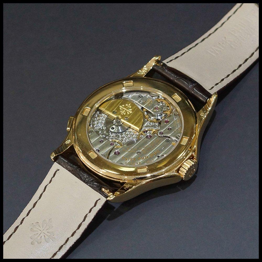 Patek Philippe World Time 5110 18K Rose Gold Mens Watch - 3